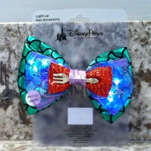 Disney Light Up Little Mermaid Ariel Hair Bow